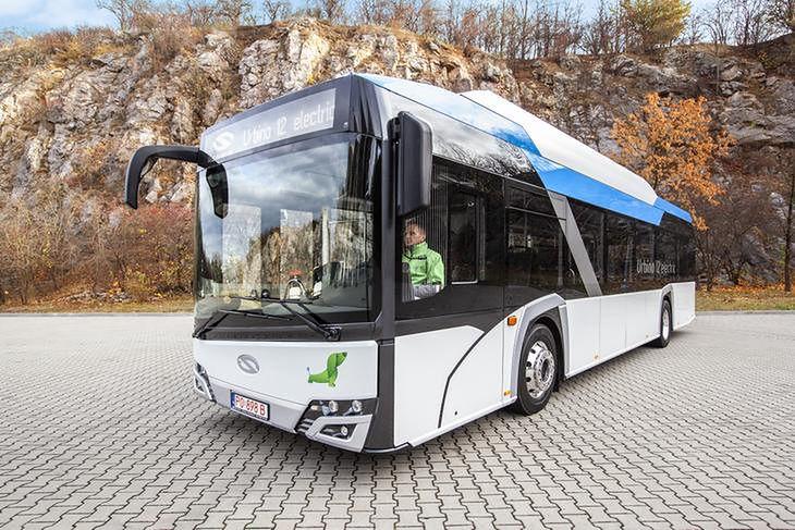 Solaris Urbino 12 Electric (fot. mat. prasowe)