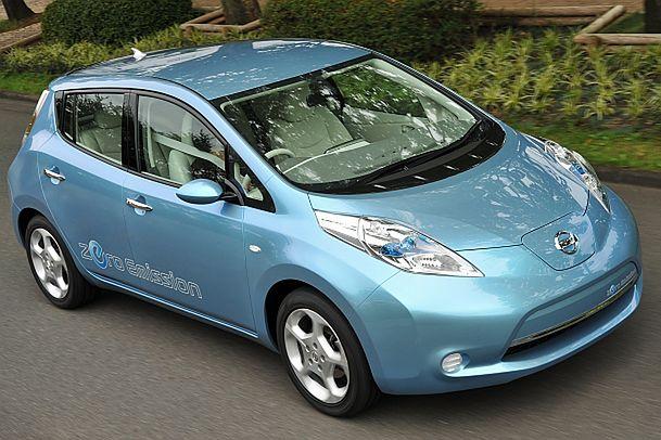 W pełni elektryczny Nissan Leaf