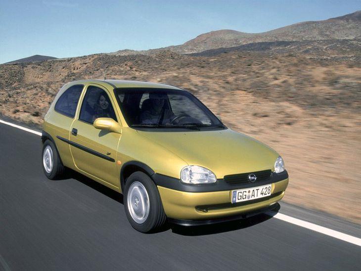 Dane Techniczne Opel Corsa B