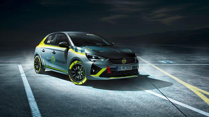 Opel Corsa-e to pierwszy samochód rajdowy na prąd jaki będzie można kupić i nim wystartować w specjalnie przygotowanym pucharze.