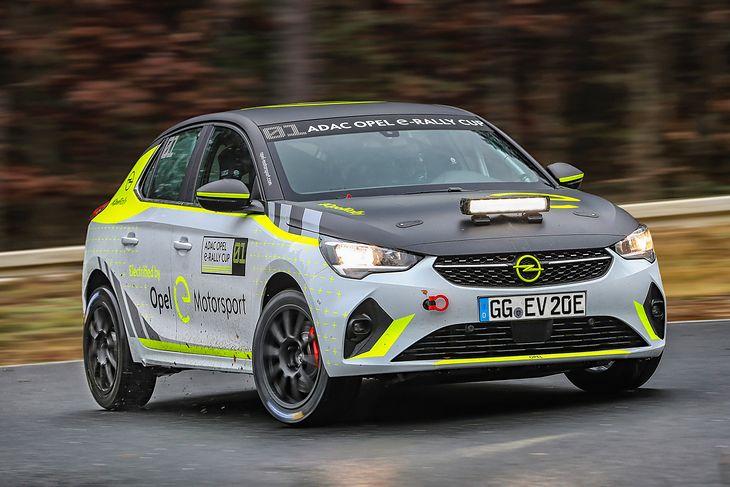 Opel planuje na sezon 2020/21 zbudować 20 sztuk Opla Corsy-e Rally