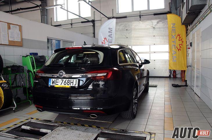 Opel Insignia ST w ASO Nexteam
