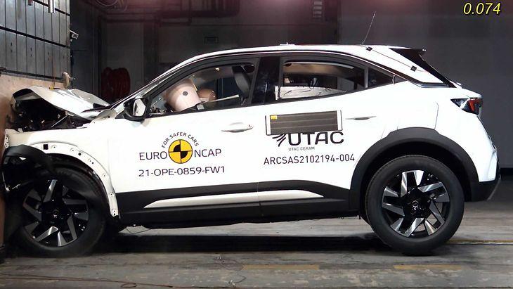 Opel Mokka nie zasłużył na 5 gwiazdek.