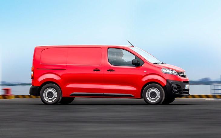 Nowy Opel Vivaro (2019)