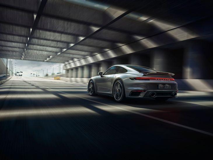 Nowe Porsche 911 Turbo S