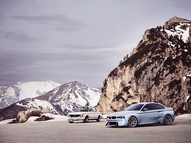 BMW 2002 (1968) i 2002 Hommage Concept (2016) (fot. BMW)