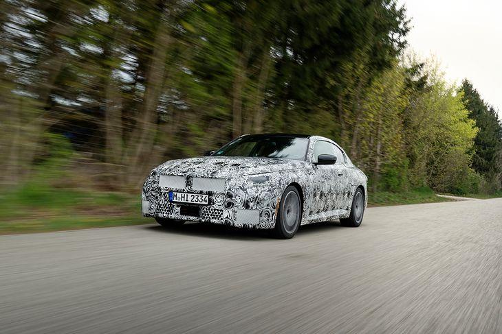 Czy nowe BMW Serii 2 będzie miało olbrzymie nerki? Tego do końca jeszcze nie wiadomo