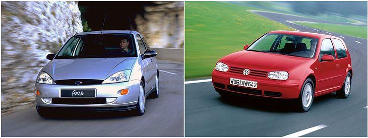 W superbly Ford Focus Mk 1 i VW Golf IV - opinie, silniki, który lepszy GM54