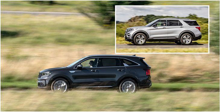 Wyglądają dość podobnie, ale różnica w cenie jest ogromna. Czy Kia Sorento może być alternatywą dla Forda Explorera?