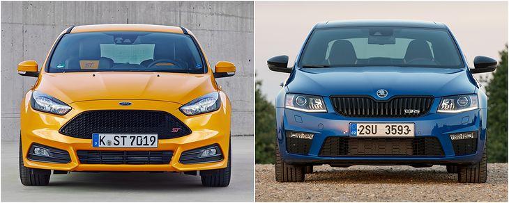 Jeszcze w 2018 roku można było kupić oba samochody w salonie. Octavia trochę się teraz zmieniła, a Ford wycofał ST z oferty.