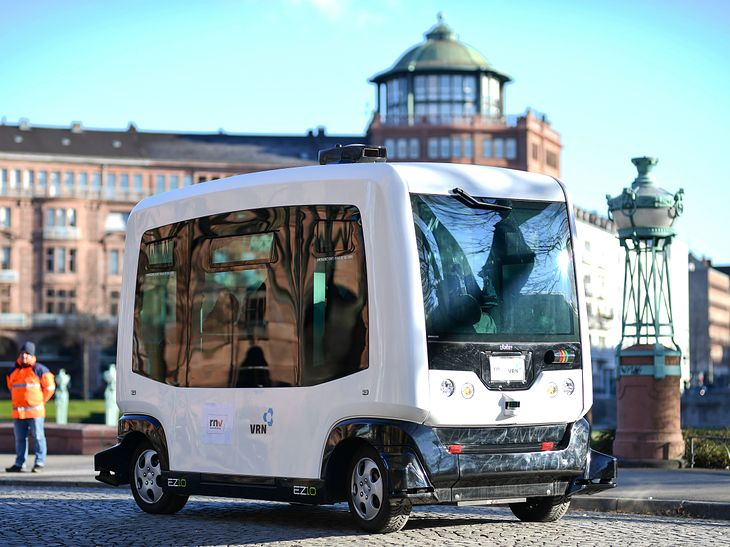 W przyszłości takie pojazdy mogłyby wozić pasażerów pomiędzy przystankami przesiadkowymi