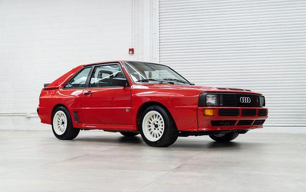 Wystawione na sprzedaż Audi Sport Quattro przejechało dotychczas ok. 56 tys. km.