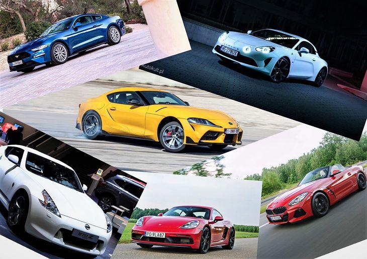 Toyota GR Supra 2.0 może nieźle zamieszać w towarzystwie. Które z tych aut byście wybrali?