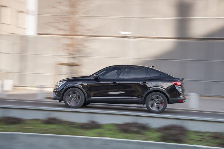 Nie da się ukryć, że inspiracją dla Arkany było BMW X6