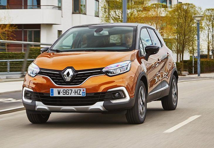 W Polsce Renault Captur cieszy się mniejszą popularnością od Toyoty C-HR, Dacii Duster czy Volkswagena Tiguana