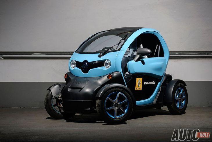 Renault Twizy wygląda zupełnie inaczej niż dotychczas znane samochody, nawet elektryczne.