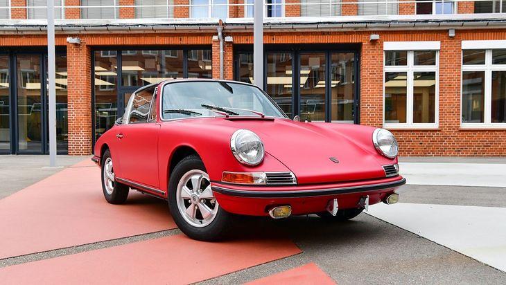 W kwestii matowych lakierów, Porsche wyprzedzało swoją epokę.