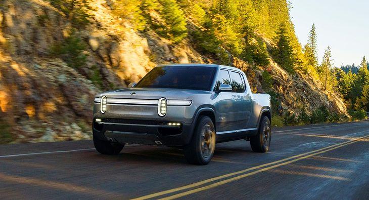 Rivian R1T to pickup z mocnym napędem elektrycznym.