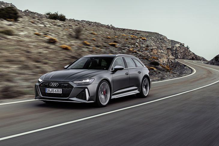 Nowe Audi RS 6 Avant to już czwarta generacja supersportowego modelu klasy wyższej