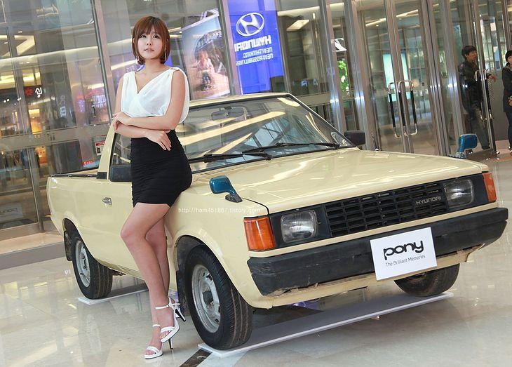 Hyundai Pony MK2 pick up