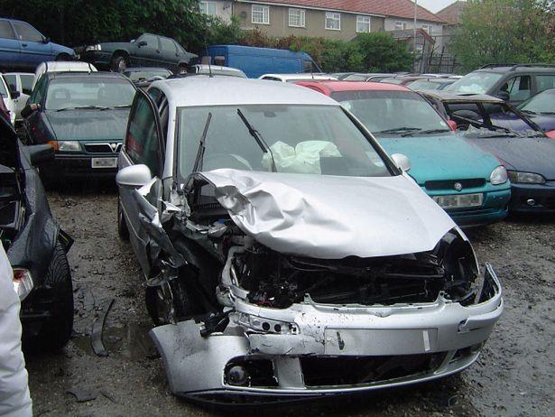 Samochód powypadkowy