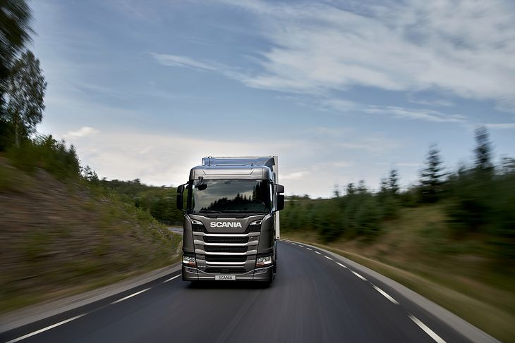 Scania R580 pokazała we Francji swoje możliwości techniczne.