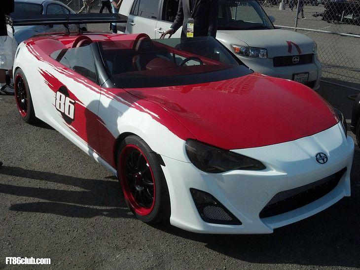 Scion FR-S Speedster (źródło: FT86club.com)