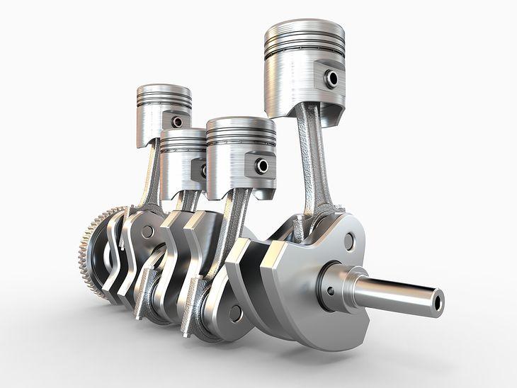 Zdjęcie układu korbowego silnika (fot. Maxx-Studio / Shutterstock.com)