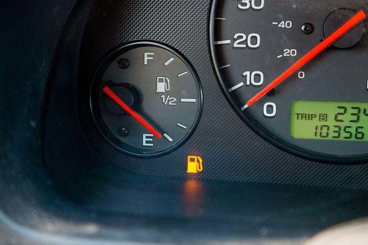 Kontrolka rezerwy paliwa