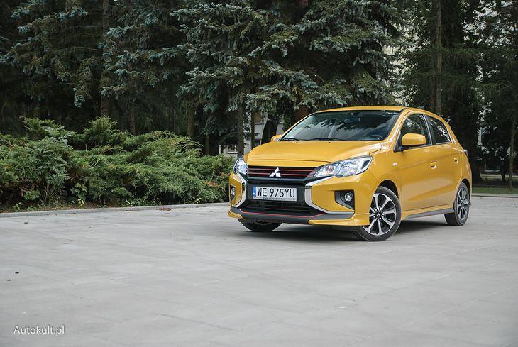 Mitsubishi Space Star przejął pałeczkę najtańszego samochodu na polskim rynku