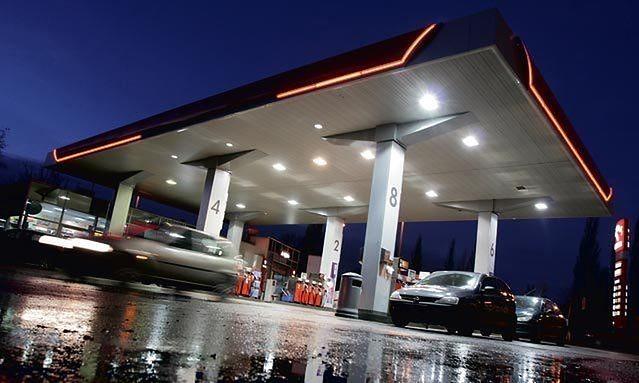Stacja benzynowa (fot. Łukasz Giza/Agencja Gazeta)