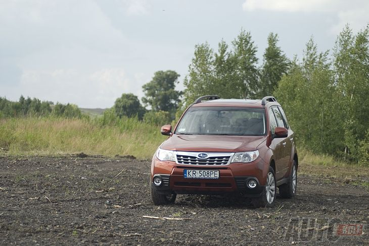 Subaru Forester (fot. Justyna Dworaczek)