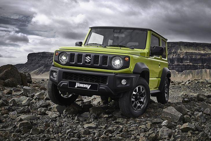 Nowe Suzuki Jimny (2018)