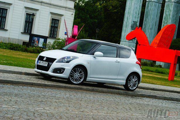 Suzuki Swift Sport 2012 Mocniejszy łagodniejszy Test Autokult