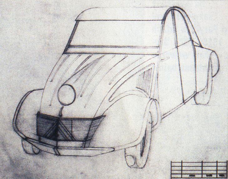 "Szkic 2CV - ""Auto Sukces"", nr 3/2000"