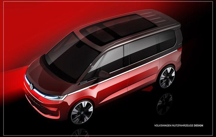 Tak ma wyglądać nowy Volkswagen T7 Multivan