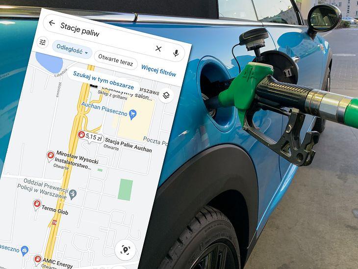 Od teraz w Google Maps sprawdzisz ceny na wybranych stacjach paliw