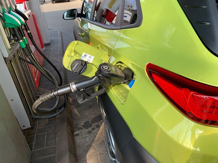 Olej napędowy dalej utrzymuje się powyżej 5 zł za litr.