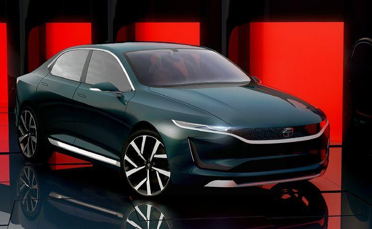 EVision ma dorównywać rozmiarami Jaguarowi XE, czyli na rynkach konkurować z Mercedesem klasy C i BMW 3