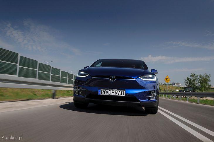 Tesla Model X to obecnie jedyny SUV sprzedawany przez amerykańską markę w Polsce