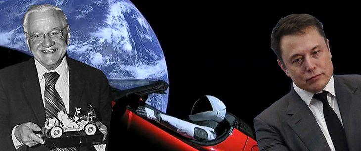 Smutny Elon Musk jest smutny. Mieczysław Bekker był pierwszy.