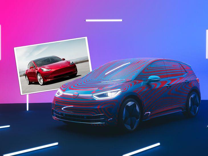 Volkswagen ID.3 czy Tesla Model 3?