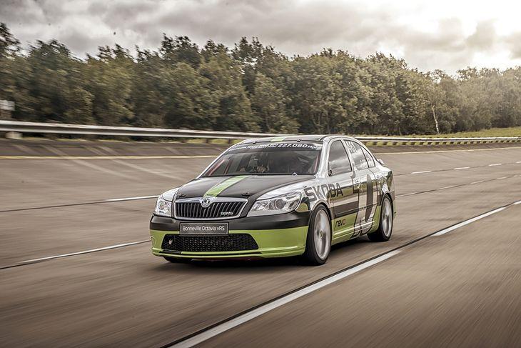 To najszybsza Škoda Octavia RS na świecie.