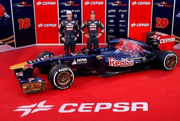 Toro Rosso F1 STR8