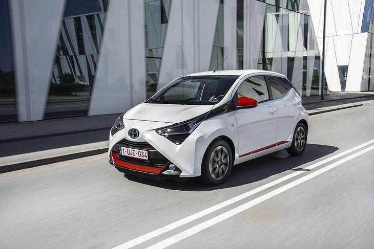 Toyota Aygo jest najmniejszym modelem japońskiej marki w Europie