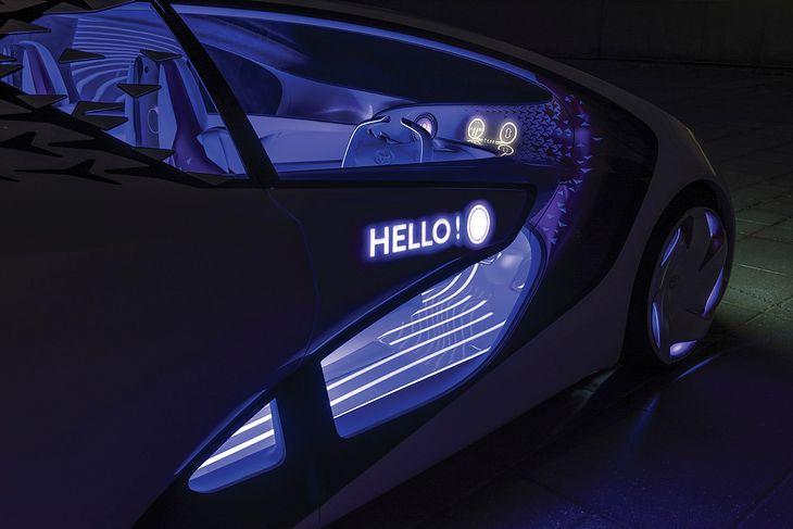 Toyota Concept-i pokazuje kierunek rozwoju tej japońskiej marki (fot. Toyota)
