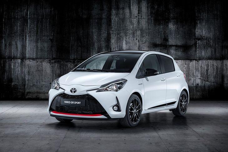 Toyota Yaris to pierwszy z zapowiadanych modeli z linii GR Sport.
