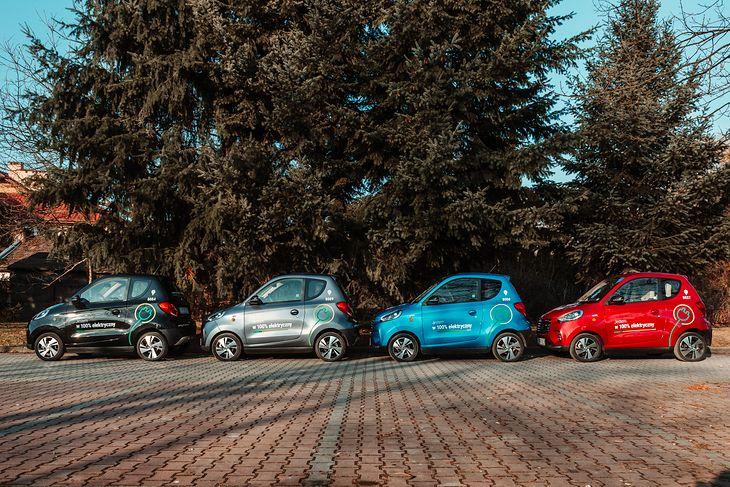 Małe wymiary ułatwią parkowanie w zatłoczonym centrum Warszawy