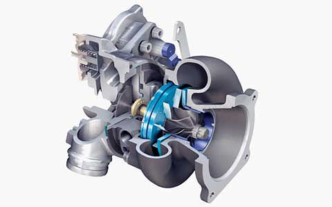 Turbosprężarka z VGT