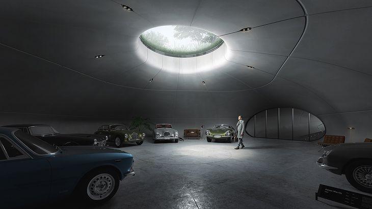 Prywatne muzeum Astona Martina pod Warszawą